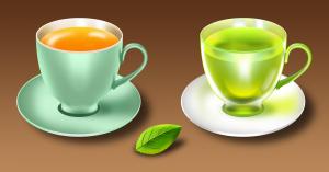mint-tea-cups-saucers