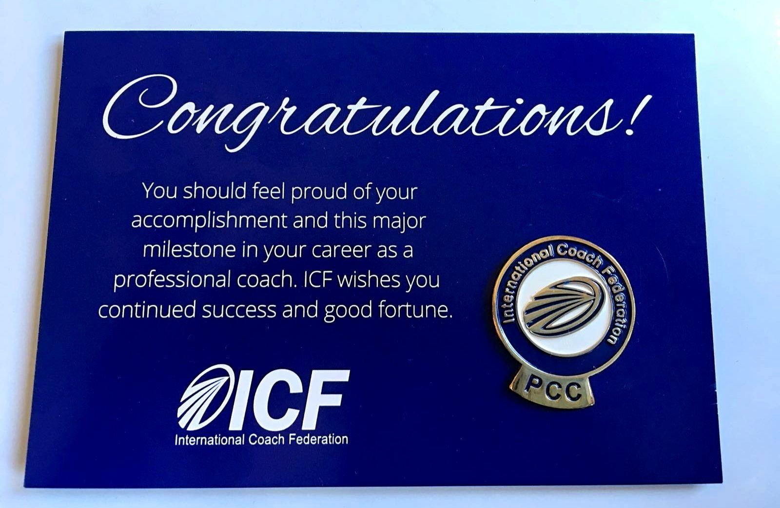 certificado pcc icf gct coaching